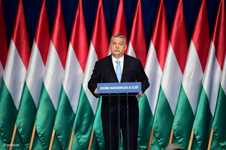 Orbán Viktor a 2019-es évértékelőn