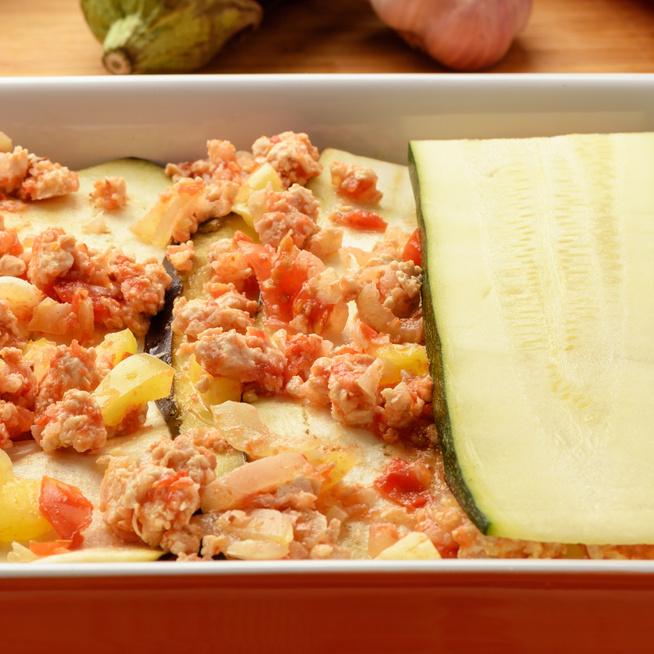 Szaftos, karcsúsító hamis lasagne – Ugyanolyan finom, mint az igazi