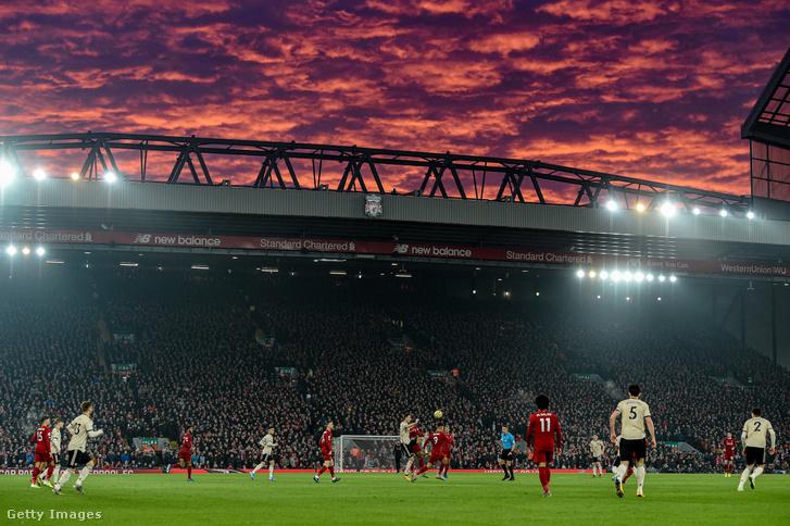 Premier League meccs a Liverpool FC és a Manchester United között 2020. január 19-én