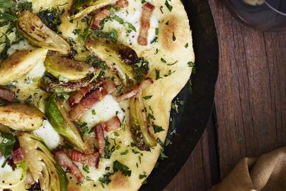 Ropogós, baconös-kelbimbós pizza – Így a gyerekek is megeszik a zöldséget