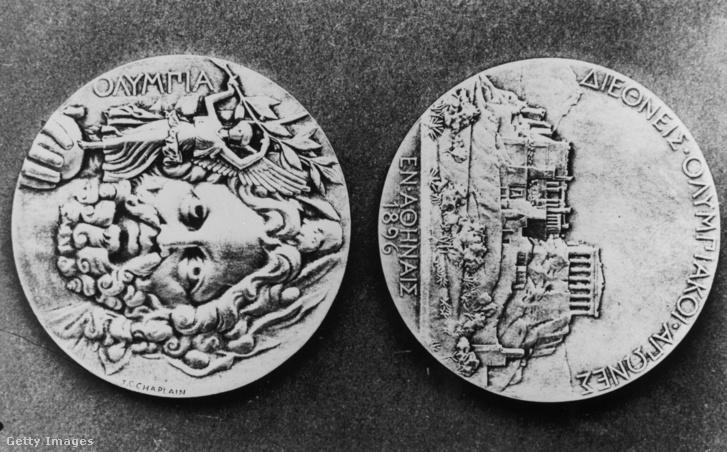 Az 1896-os athéni játékok olimpiai érmei