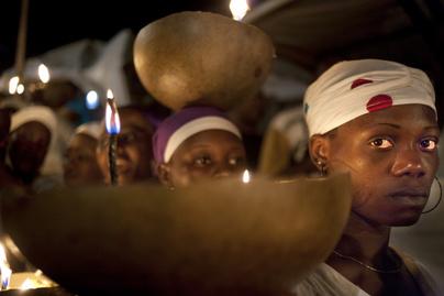 vudu szertartás nyitó