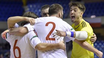 Magyar győzelem a futsal Eb-selejtező rajtján