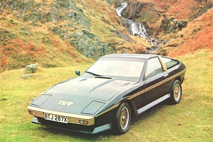 A Lilley-korszakra jellemző, origami-forma egyik jellemző autója a Ford Capri-féle V6-ossal szerelt Tasmin 280i