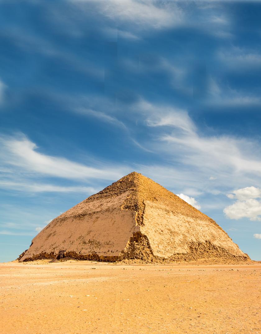 A Bent piramis.