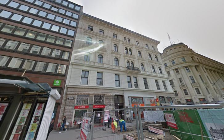 Vörösmarty tér 2., ahol a Chi Fu Investment Fund Management Zrt. székhelye található