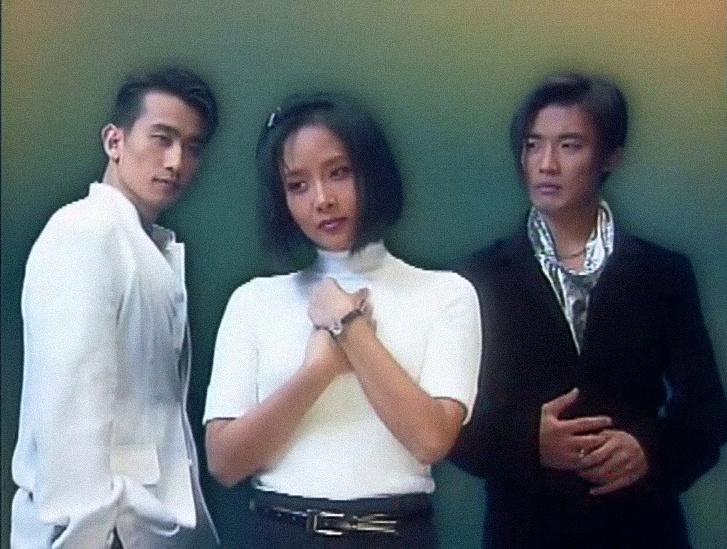 Ahn-Jae Wook (j) egy 90-es évek végi koreai drámában