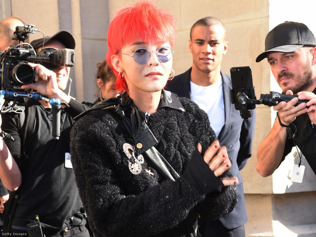G-Dragon a Párizsi Divathéten 2017-ben