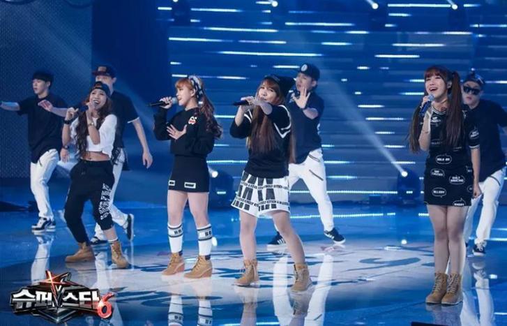 Részlet a Superstar K tehetségkutató műsorból