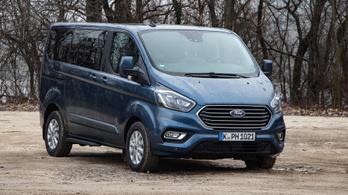 Teszt: Ford Tourneo Custom PHEV – 2020.