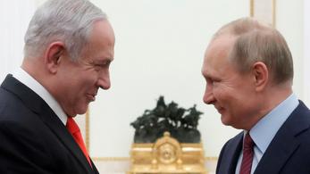 Netanjahu megköszönte Putyinnak, hogy elengedte a hasis miatt ülő izraeli lányt
