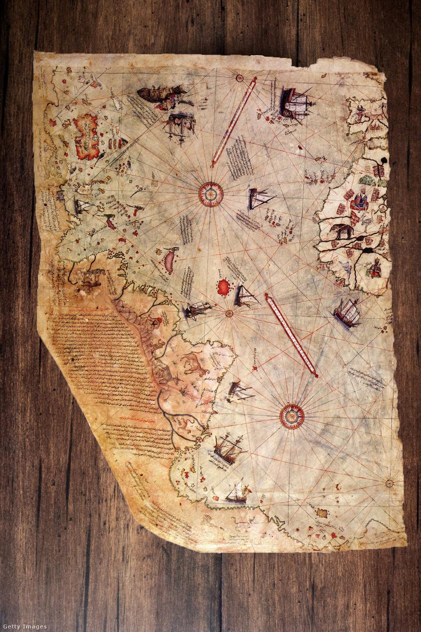 A Piri Reis-térkép.