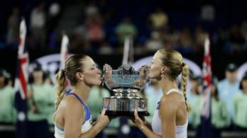 Babos Tímea harmadik Grand Slamjét nyerte az AusOpenen