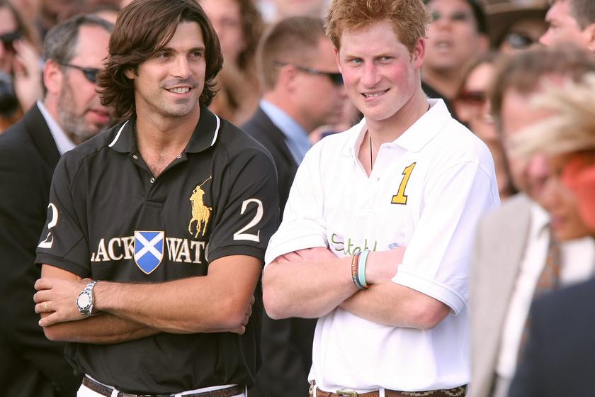 Harry herceg és Nacho Figueras 2009-ben.