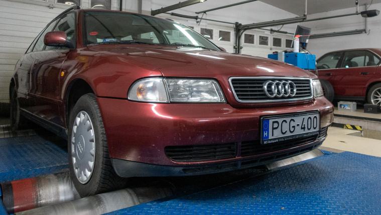 Népszerű Audi, magyar motorral