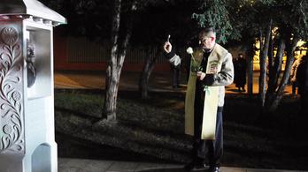 Lehányták és megrongálták a csepeli Wass Albert-szobrot