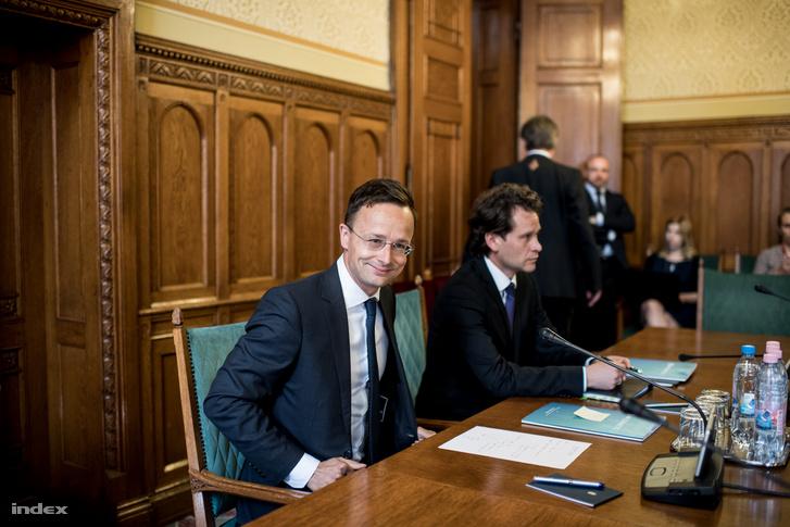 Szíjjártó Péter külgazdasági és külügyminiszter