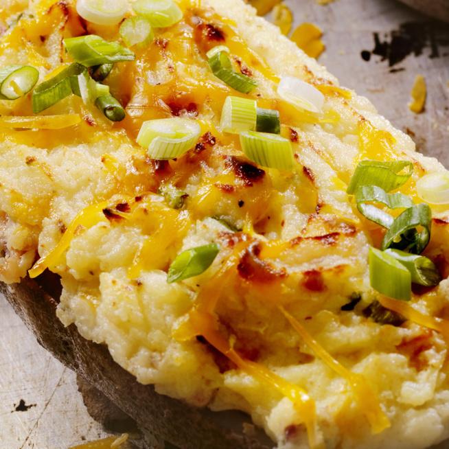 Kívül ropogós, belül krémes töltött krumpli - Kétszer sült burgonya, ami mindenkit elvarázsol