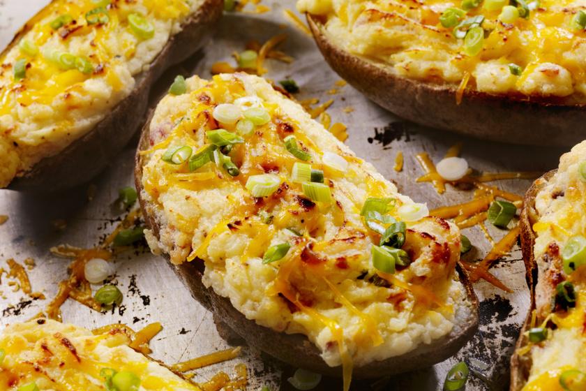 kétszersült krumpli recept
