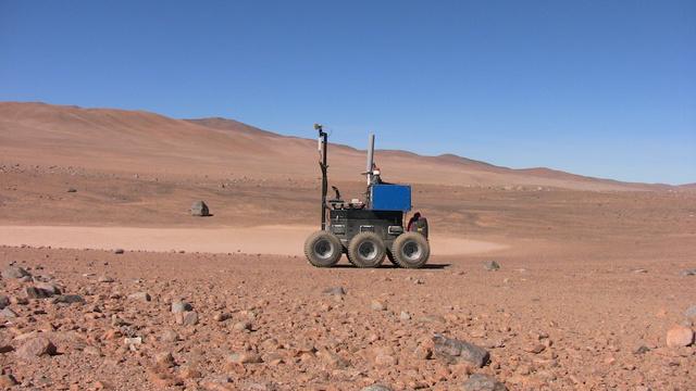 A Seeker próbaútja az Atacama-sivatagban