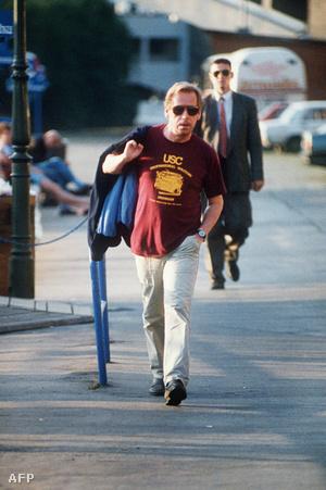 Václav Havel 1992 július 18-án