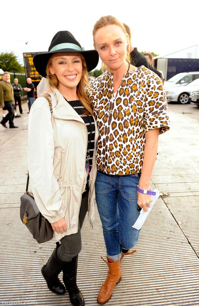 Kylie Minogue és Stella McCartney