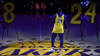 Kobe Bryantre emlékezett a halála utáni első hazai meccsén a Lakers