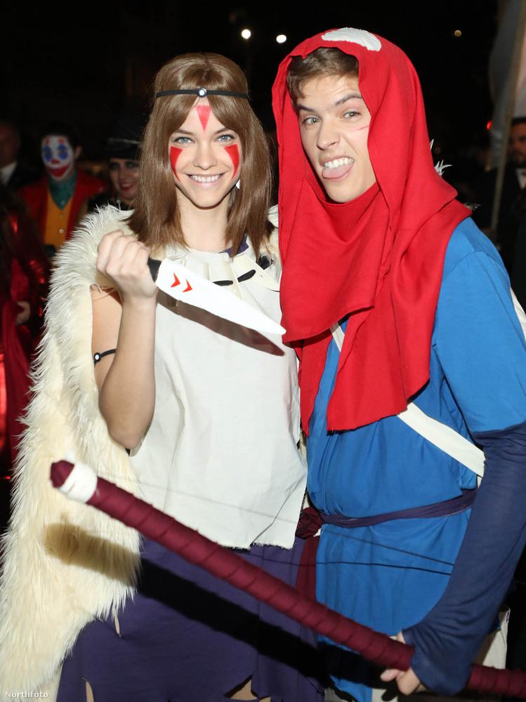 Íme a pár jelmezben! Ez tavaly október 31-én volt, Heidi Klum Halloween-bulijában.