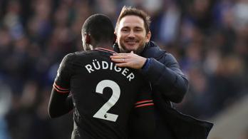 Rüdiger duplázott, a Leicester elherdálta a helyzeteit a szombati rangadón
