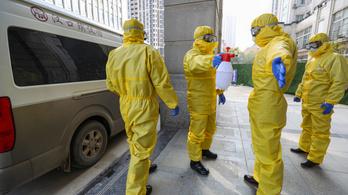 Tovább nőtt a vírus halottainak száma, megvan az első áldozat Kínán kívül is