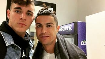 Cristiano Ronaldóékkal edzhetett a Juventus 16 éves magyar kapusa