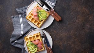 Füstölt sajtos keto gofri – így lehet a kedvencünkből egészséges reggeli