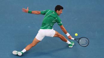 Djokovic nyolcadik AusOpenjét nyerte döntő szettben Thiem ellen
