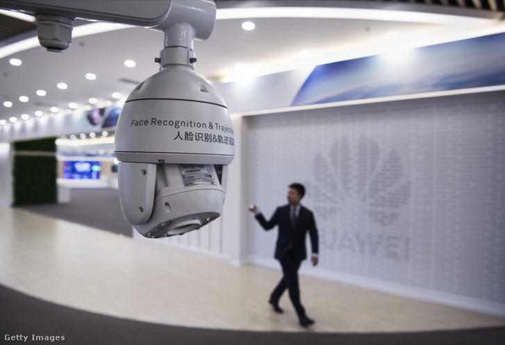 Fő a biztonság, arcfelismerő kamera a Huawei bantiani kampuszán