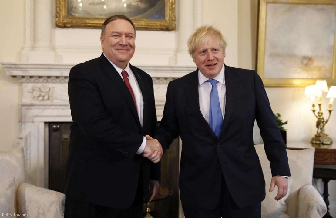 Mike Pompeo találkozott Boris Johnsonnal 2020. január 30-án, hogy több fontos kérdésben is egyeztessenek. Többek között a Huawei szerepéről is a British 5G Networks-ben.