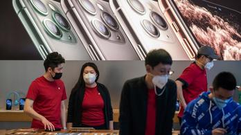 Az Apple is bezár Kínában, de hétfőn újranyit a koronavírus miatt bezárt sanghaji tőzsde