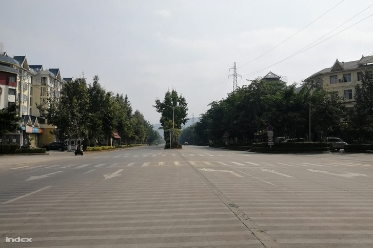 Csinghongi forgalom 2020. február 1-én