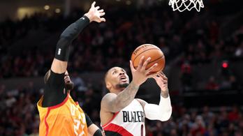 NBA-rekord lett a Portland sztárjának újabb 50 pontos meccséből