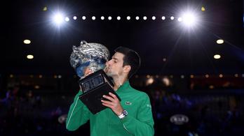 Djokovic szetthátrányból nyerte nyolcadik AusOpenjét