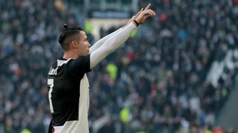 Simán nyert a Juventus a Fiorentina ellen, Ronaldo duplázott