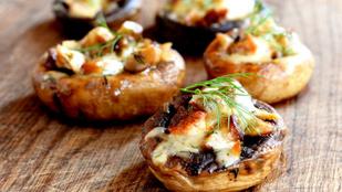 Jöhet egy jó kis olasz vacsora szénhidrátok nélkül? Próbáld ki a portobello pizzákat!