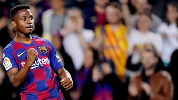 A 17 éves szupertehetség szállította a győzelmet a Barcelonának