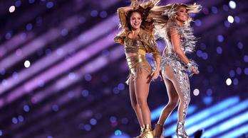 Erotikus táncműsor lett a Super Bowl szünetéből