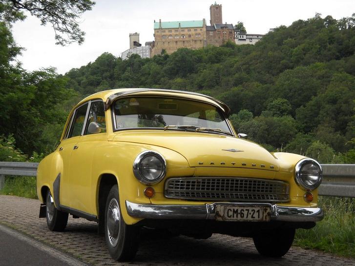 A keleti blokk egyik legszebb autója volt a púpos Wartburg, ennek megfelelően drága is