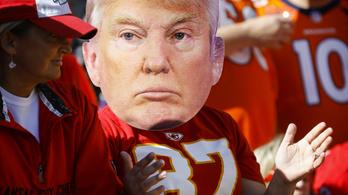 Donald Trump rossz államnak gratulált a Super Bowl után
