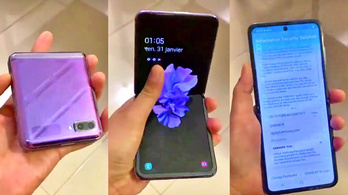 Már videó is van a Samsung új összehajtható mobiljáról