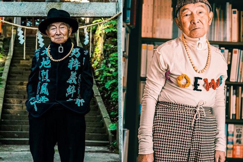 Az unokája miatt lett modell a 86 éves nagypapa: stílusával meghódította az Instagramot