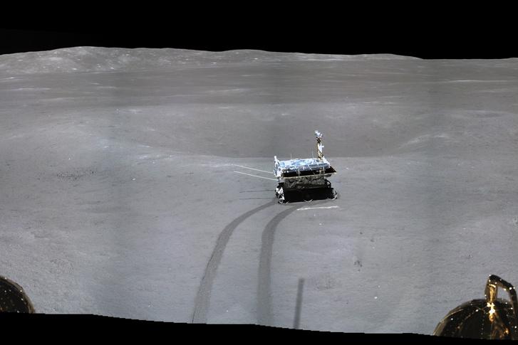 A Jáde Nyúl-2 a Holdon
