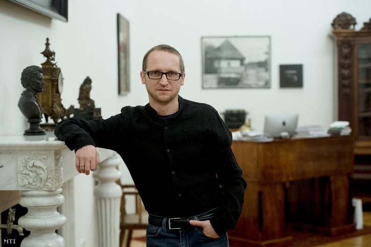 Demeter Szilárd, a Petőfi Irodalmi Múzeum (PIM) főigazgatója, miniszteri biztos