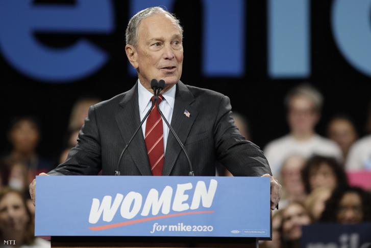 Michael Bloomberg amerikai milliárdos
